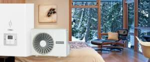 Тепловий насос в будинку 200 м2